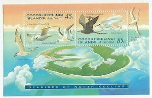 1995 COCOS (KEELING) ISLANDS 'SEABIRDS OF NORTH KEELING' - MNH MINI SHEET