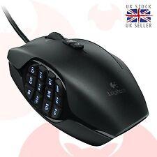 Logitech G600 MMO Gaming Mouse USB-Powered Black UK SELLER