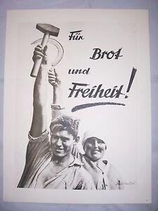 Politica Fotomontaggio John Heartfield 1976 Poster