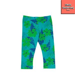 MACCHIA J Leggings Size 2Y Hawaiian Pattern Elasticated Waist