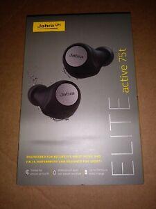Jabra Elite Active 75t True In Ear Headphones - Titanium Black