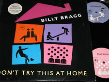 Billy Bragg DON 'T TRY THIS AT HOME/UK DLP 1993 Utility Cook 062