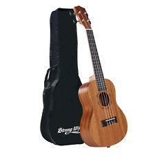 Concert Ukulele 23 Inch Mahogany Ukulele Starter Uke kids Guitar Kit with Bag