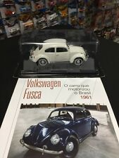 DREAM CARS COLLECTION - SALVAT - VOLKSWAGEN FUSCA 1961 - 1:24 BRAZIL EXCLUSIVE
