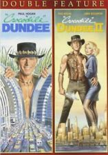 Crocodile Dundee 1 + 2 (I + II Paul Hogan) Region 1 DVD New (2 Discs)