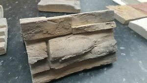 SAMPLE!  GRENADA1 Russet, Split Face Slate, Cladding, Decorative Stone, Tile