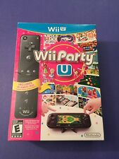 Wii Party U Package with Black Wii Remote Plus (Wii U) NEW