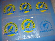 LOT DE 6 ANCIEN SACHET CYCLES PEUGEOT PIECES D'ORIGINE velo collection vintage