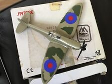 DIECAST MINI MODEL SPITFIRE TONKA POLISTIL  . AIRCRAFT IN LOVELY MINT CONDITION