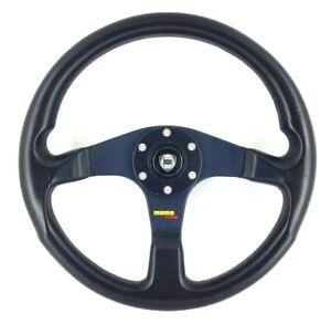 Genuine Momo Corse leather steering wheel for Lancia. Delta Turbo Integrale.  7E