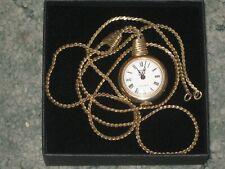 Ladies  Vintage  ANKER  Watch on necklace,  in good working order.
