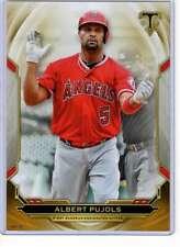 Albert Pujols 2019 Topps Triple Threads 5x7 Gold #49 /10 Angels
