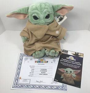Build a Bear The Child Mandalorian Baby Yoda Star Wars w/5-in-1 Sounds NEW