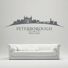 Peterborough England City Skyline -  Cathedral, Elton Hall, Longthorpe Tower, Ne