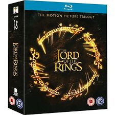 Lord Of The Rings Trilogy: Complete Movies 1 2 3 Boxed BluRay Set [Region Free]