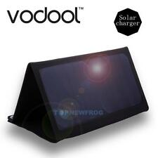 VODOOL Portable USB Solar Panel Regulator Folding bag/ Cell Panel 14W Charger