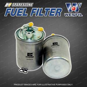 Wesfil Fuel Filter for Volkswagen Polo 9N 1.9L TDi 4Cyl SOHC 8V Refer Z799