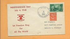 Independence Day Let Feedom Ring Jul 4,1948 U.S.S. Bairoko