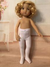 "White Tights for 10"" Boneka Dianna Effner Doll"