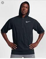 727336 010 Brand New Nike Men/'s Black Athletic Fashion Zip Up
