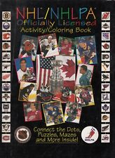 NHL/NHLPA  Hockey  1996  NHLPA Activity Coloring book