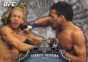 Charles Oliveira 2012 Topps UFC Bloodlines Card #52 262 256 225 210 Fight Night