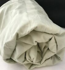 Tarragon Stripe Sage Green Full Fitted Sheet Wide Supima 350TC Company Store