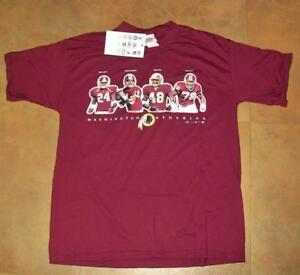 Washington Redskins shirt nwt sz. XL Mint NEW w tag TEAM PIC Champ Bailey