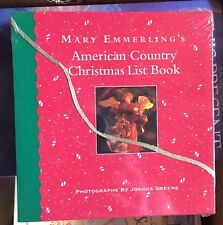 Mary Emmerling's American Country Christmas List Book