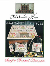 10% Off The Scarlett House counted X-stitch chart - Margaret Lillie 1812