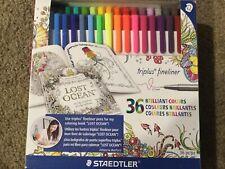 Staedtler 36 triplus fineliner pen set - Brilliant Colors