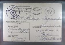 Camp Stalag VA Ludwigsburg 1942 POW Prisoner Belgium Kriegsgefangenenpost K46i