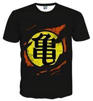 Newest Fashion Womens/Mens Dragon Ball Z Funny 3D Print Casual T-Shirt UBB428