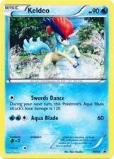 Pokemon BW60 Keldeo 2012 Holo Promo CARD from the Figure Box