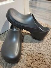Birkenstock Professional Black Polyurethane Clogs Men's Size 12 new work shoes