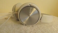SONY MDR-ZX310 Headphones - WHITE & SILVER