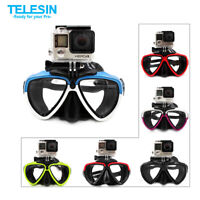 TELESIN Diving Goggles + Removable Mount For GoPro SJCAM Xiaomi DJI Osmo Action