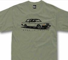 T-shirt for volvo 242 244 fans classic swedish car