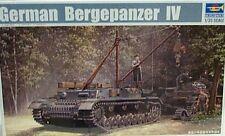 Trumpeter 1/35 German Bergepanzer IV Tank Recovery Vehicle Model Kit 389