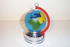 MINT 1950's BATTERY OPERATED WORLD GLOBE GLASS LANTERN LAMP JAPAN TOY