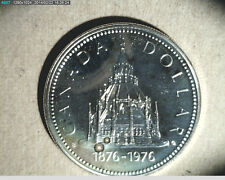 1976 Canada $1 Parliment Library .3750 oz  Silver, Unc High Grade (Can-302)