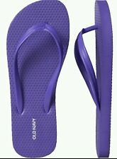 OLD NAVY WOMEN'S FLIP FLOPS, Size 10 Purple