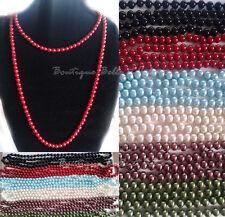 Modeschmuck-Halsketten & -Anhänger im Collier-Stil aus Glas mit Türkis