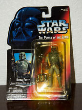 1995 Star Wars Power Of The Force Boba Fett Action Figure Moc First Issue