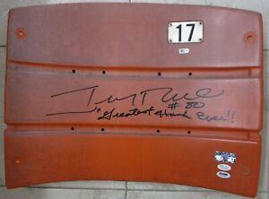Jerry Rice Autographed Seatback Candlestick Park JSA PSA #80 Greatest Hands Ever