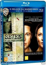 Blu-ray Seven + The Curious Case of Benjamin Button [English+Spanish+Portuguese]
