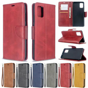 For Samsung Galaxy A51 A71 A30 A70 Flip Leather Magnetic Wallet TPU Case Cover