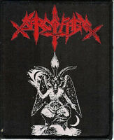 Sarcofago Baphomet Patch Sepultura Beherit Blasphemy Possessed Hellhammer Venom
