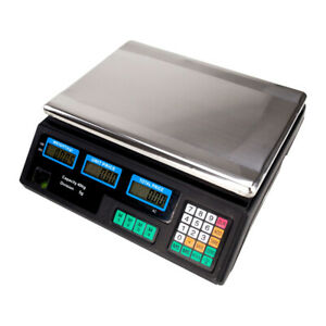 40kg Digital Fruit Scales Electronic Vegetable Commercial Retail Price Weigh