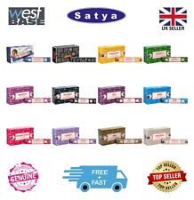 Original Satya Genuine Nag Champa Incense Sticks Joss FULL BOX (12 x 15g Packs)